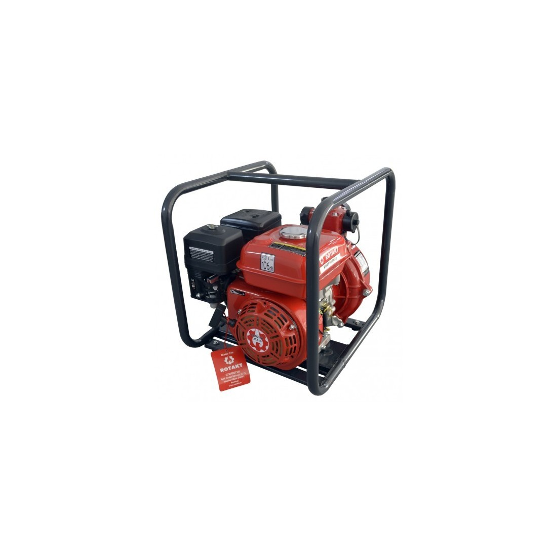 """Motopompă Rotakt ROMP50ZB60, pentru apă curată, de presiune, 2"""""""