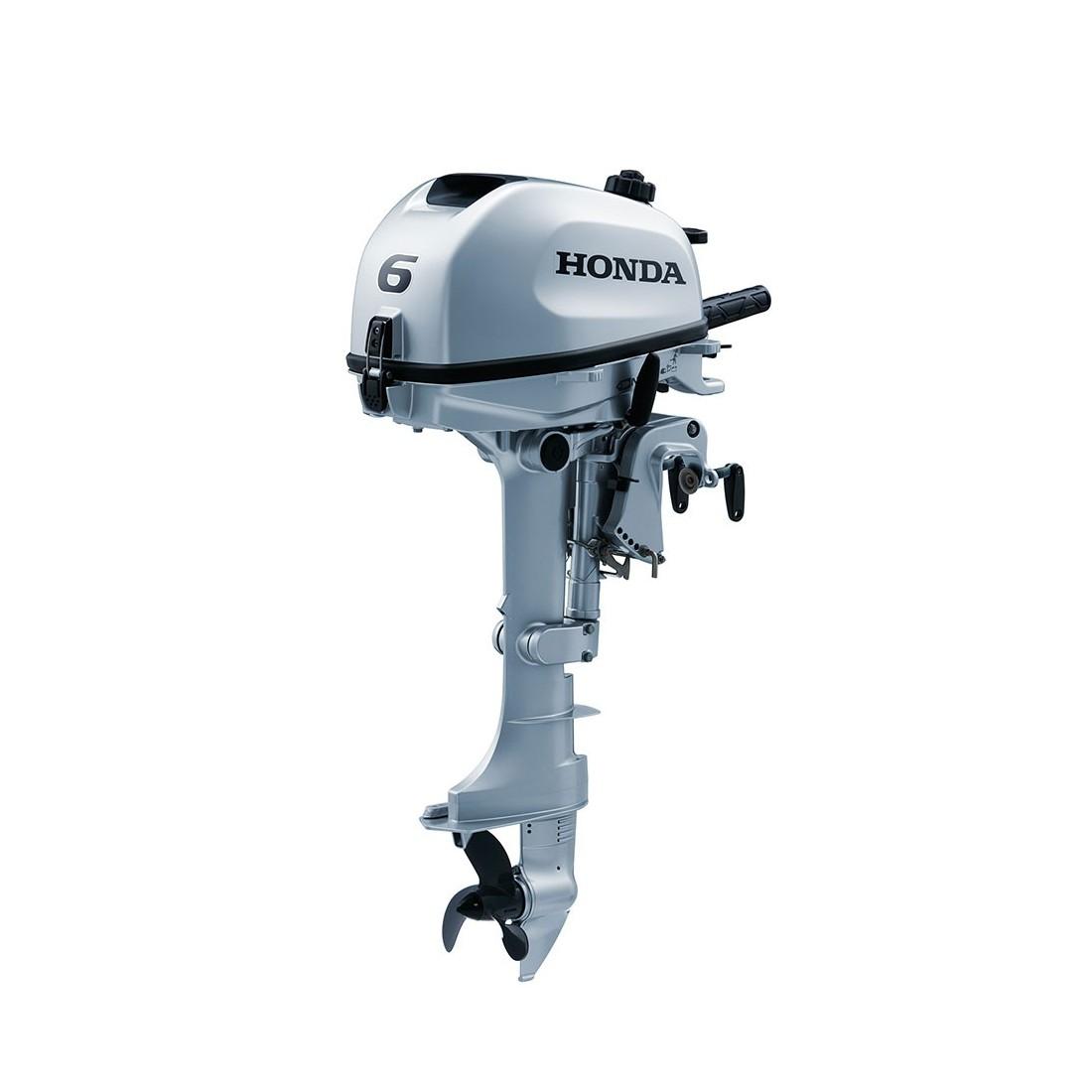 Motor de barcă Honda BF6 SHNU, cizmă scurtă, 6 CP