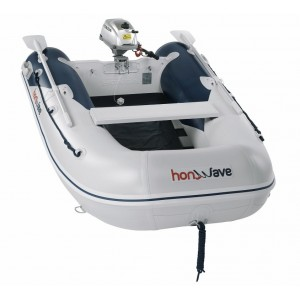Barcă pneumatică cu podina segmentată Honda Honwave T25-SE2, 2.5 metri