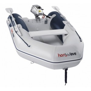Barcă pneumatică cu podina de înaltă presiune Honda Honwave T24-IE2, 2.40 metri