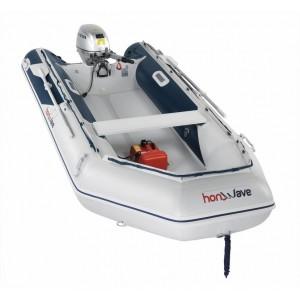 Barcă pneumatică cu podina de înaltă presiune Honda Honwave T38-IE2, 3.76 metri