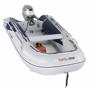 Barcă pneumatică cu podina din aluminiu Honda Honwave T30-AE2, 2.97 metri