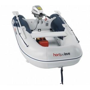 Barcă pneumatică cu podina din aluminiu Honda Honwave T25-AE2, 2.5 metri