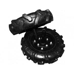 Set roti de cauciuc 4.00-8 pentru motocultor Rotakt