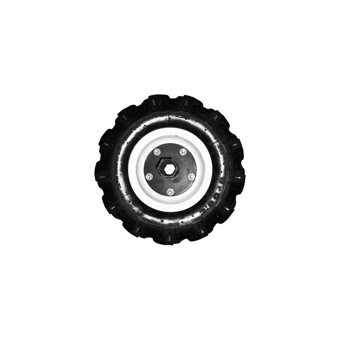 Set roți de cauciuc 3.50-6 pentru motocultor, Rotakt